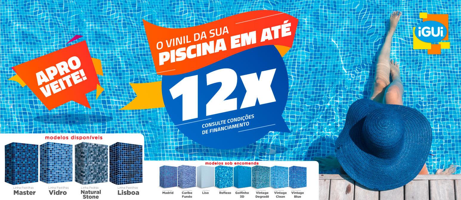 iGUi TRATABEM - Promoção para troca do vinil em 12x sem juros