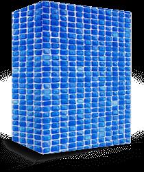 Vinil para piscina Vintage Blue